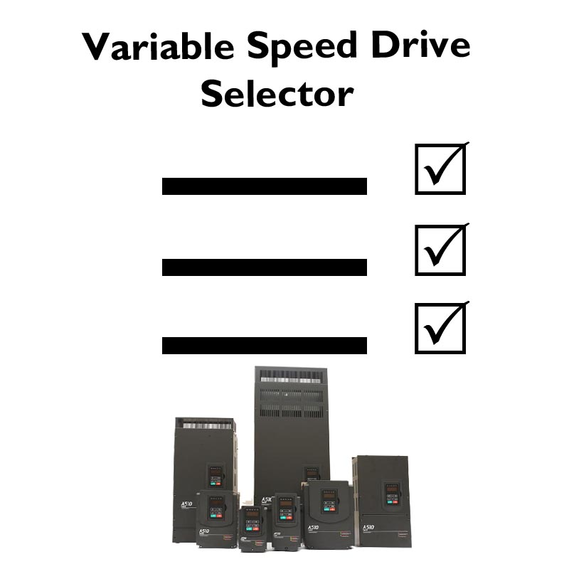 Variable Speed Drive Selector